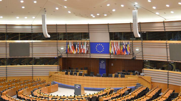 Hemiciclo del Parlamento Europeo