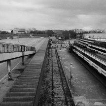 Estación de cercanías de El Soto. Autor: Lucía Cortés