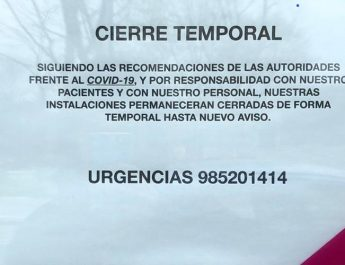 Se trata de un texto que indica que el establecimiento permanecerá cerrado debido al COVID19