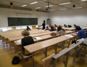 Prueba de Selectividad en una universidad del País Vasco