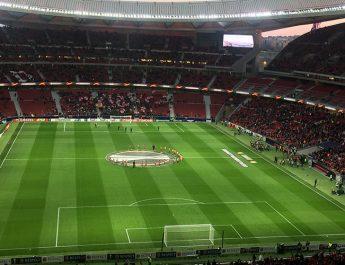 Estadio de fútbol del Atlético de Madrid