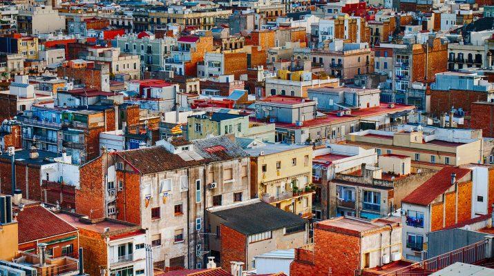 Vista áerea ciudad