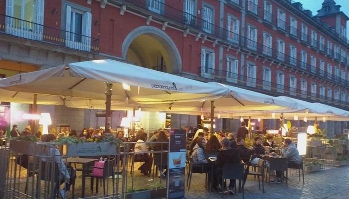 Bares muy recurridas localizados en la Plaza Mayor de Madrid