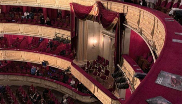 Palco de los reyes. Teatro Real