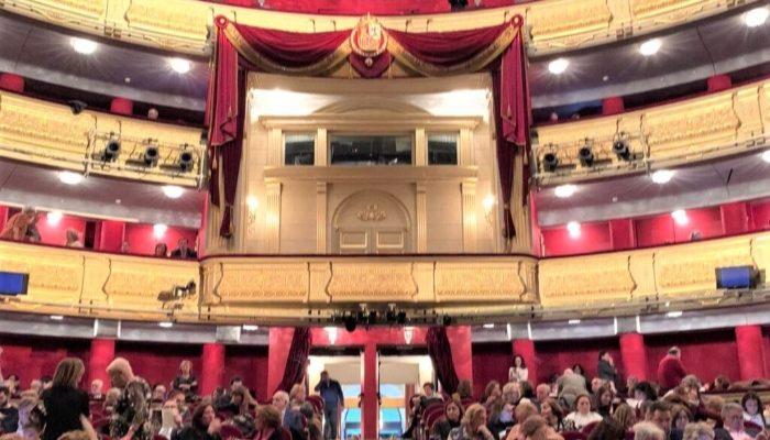 Palco de los reyes del Teatro Real